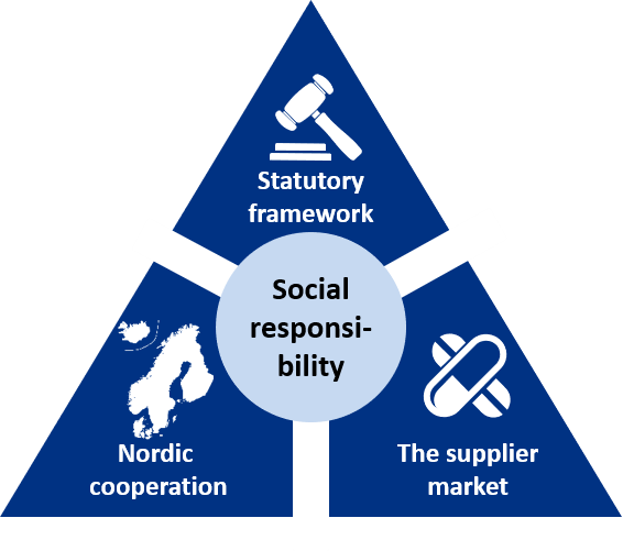 Figure 8: Working with corporate social responsibility.